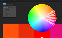 Adobe Kuler - онлайн-конструктор цветовых схем
