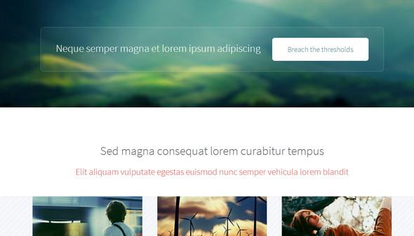 Telephasic - шаблон сайта на HTML5