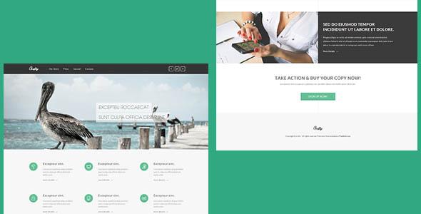 Crafty - адаптивный шаблон корпоративного сайта