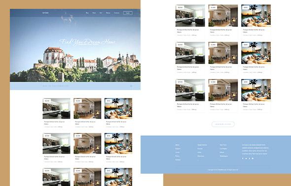 La Casa – HTML шаблон сайта отеля