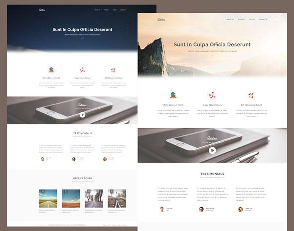 Sublime – прекрасный HTML5/CSS3 шаблон сайта