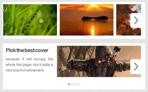 jQuery.Silver Track – классный плагин карусели изображений и контента
