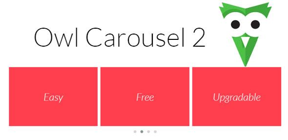 Owl Carousel 2.0 – карусель на JQuery с поддержкой touch