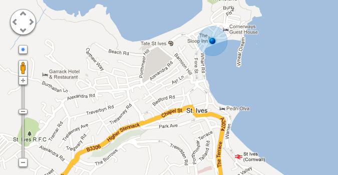 Элементы интерфейса Google Maps (PSD)