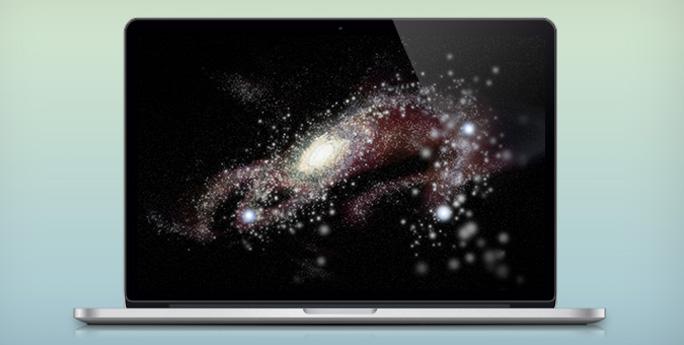 Макет MacBook Pro с дисплеем Retina (PSD)