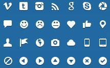 200 векторных иконок для сайта