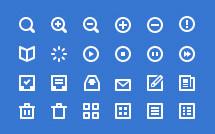 80 мини-иконок для сайта