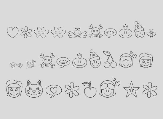 Неалфавитные шрифты (Dingbats)