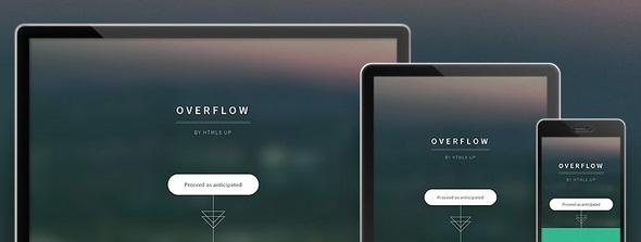 Overflow - адаптивный шаблон сайта на HTML5