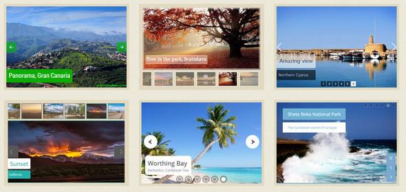 Wow - слайдеры и карусели изображений и контента